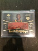 Kevin Durant 2007 Upper Deck Sweet Beginnings Ball Auto Rookie Card /299