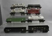 Lionel Vintage O Assorted Freight Car Lot 6462, 6476, 6415, 3469 [8]