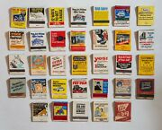 Vintage Matchbook Collection - Mail-in Ad-themed Matches, Lot Of 33 Collectibles