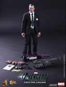 Hot Toys Andndash Mms189 - The Avengers 1/6th Scale Agent Phil Coulson Limited Edition