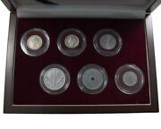 Rare Wwii D-day 75th Anniversary Collection 6 Coin Boxed Set Coa And History Inc