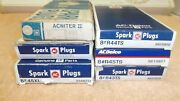 Vintage Nos Ac Spark Plugs R43ts R44ts R45ts R43t Acniter 45xl Lot Of 45