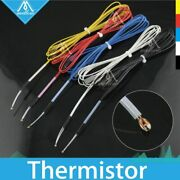 3950 100k Ohm Thermistor With 1 Meter Teflont Wiring For Reprap Cr-10 Anet