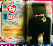 The End -the Bear Beanie Baby Plush Toy Ty Vintage Retired With Errors