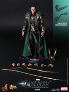 Hot Toys – Mms177 - The Avengers 1/6th Loki Limited Edition Action Figure New