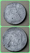 Half Dollar 1866 S Seated Liberty No Motto Lowest Price On Ebay W Free Priority