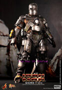 Hot Toys Mms168 Iron Man: - 1/6th Mark 1 2.0) Exclusive Version Action Figure