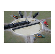 Walthers 933-2618 N Assembled Motorized 130' Turntable 10-3/8 Diameter
