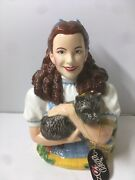 Warner Bros And The Wizard Oz - Judy Garland - Dorothy And Toto Cookie Jar With Box