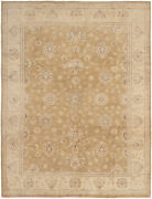 Vintage Hand-knotted Carpet 8and0390 X 10and0392 Traditional Oriental Wool Area Rug