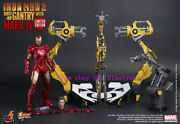 Hot Toys – Mms160 - Iron Man Ii 1/6 Scale Suit-up Gantry With Mark Iv Figure