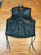 Motorcycle Harley Custom Collection Limited Edition Lthr Vest 1 Out Of 150 22