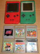 Retro Vintage Games Mgb-001 Game Boy Pocket Substance Cars With Pieces Of