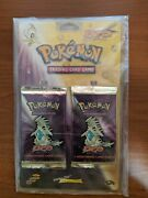 Pokemon Tcg Neo Destiny Rare Twin Blister Booster Pack Wotc Vintage Collection