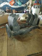 Vintage Unique Machinist Vise--large--very Smooth Operation--lightweight