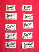 Vintage Barbie From Old Clothes Black And White Barbie Label Lot