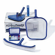 Swimline Hydro Tools 8610 Above And In-ground Swimming Pool Maintenance Kit Blue