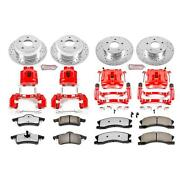 Power Stop 1-click Z36 Extreme Truck And Tow Brake Kits With Caliper Kc2150-36