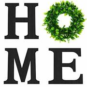 Wooden Sign For Home Wall Decor Farmhouse For Bedroom Living Room With Wreath