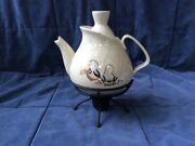 Tea Pot Bob White By Red Wing Pottery Mid-century Modern