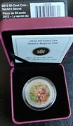 2012- 50 Cent Coloured Coin- Santaand039s Magical Visit. Changes Images When Tipped.