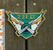 Us Army 221st Aviation Company Patch Vietnam Theater Made