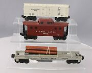 Lionel Vintage O Assorted Freight Car Lot 6472, 6427-1, 3361 [3]