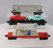 Lionel Vintage O Assorted Freight Car Lot 6456-25, 6424, 6812 [3]