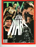 Time Magazine February 1997 Star Wars George Lucas Harrison Ford Carrie Fisher
