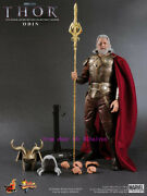 Hot Toys - Mms148 - The Thor:1/6th Odin Limited Edition Action Figure New Stock