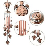 Us 36and039and039 Sea Turtle Wind Chimes Garden Bells Animals Bronze Outdoor Yard Decor Uk