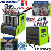 Mrcartool V308 Motor Car Fuel Injector Cleaning Machine Petrol Injector Tester