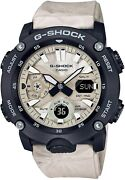 Casio G-shock Ga-2000wm-1ajf Menand039s Watch Utility Wavy Marble Limited Carbon Core