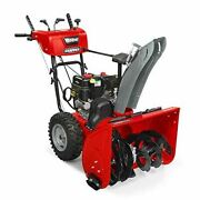 Snapper M1228e Md 28-inch Dual-stage Snow Blower With Push Button Electric Start