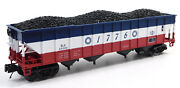 Used Mth 20-97909 Bessemer And Lake Erie Mthrrc - 2019 4-bay Hopper W/box