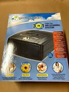 New Germguardian Ac4010 3-in-1 Table Top Air Cleaning System With Hepa,uv,odors