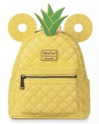 Disney Parks Loungefly Mickey Mouse Pineapple Mini Backpackandnbspnew