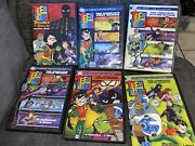 Teen Titans The Complete Seasons 1-5 And Trouble In Tokyo Movie Dvd Lot