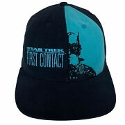 Vintage Star Trek First Contact Resistance Is Futile Paramount Usa Snapback Hat