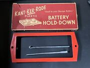 Nos 1956 Ford Mercury12volt Kant-ker-rode Accessory Battery Hold-down Fd3 New