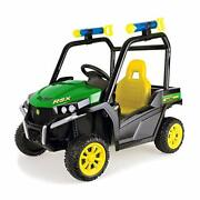 John Deere Gator Ride On Toy Car For Kids With Detachable Water Squirter Green