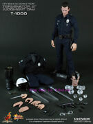 Hot Toys - Mms129 - Terminator 2 - 1/6th Scale T-1000 Action Figure New Stock