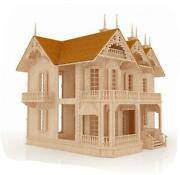 The Victorian Gothic Mansion – Stunning Puzzle Doll House