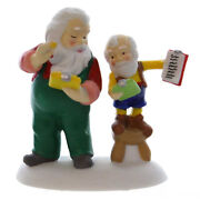 Dept 56 Accessories Check And Double Check Porcelain North Pole Series 4036550