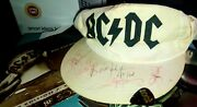 Ac/dc Autographed And039are You Readyand039 Music Video Cap And Boiler Suit Costume.