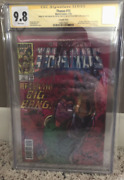Thanos 13 Cgc 9.8 Mint Signed 3x Stan Lee Starlin Cates Lenticular Cover