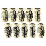 10x Plc-7 With Tabs 3v 1/2 Aa Lithium Battery Replace Sanyo Cr2np