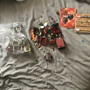 Minecraft Lego Micro World Nether/village. Instructions Included Maybe Incomplet