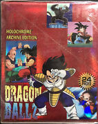Artbox Dragonball Z Holochrome Archives Trading Cards Box 24 Packs Usa Shipping