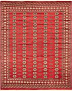 Hand-knotted Carpet 8and0391 X 10and0390 Traditional Vintage Wool Rug